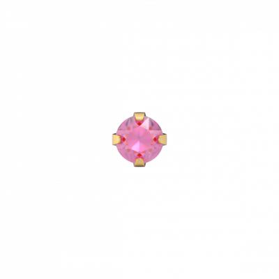 Kinderoorbellen-goud-met-roze-steen
