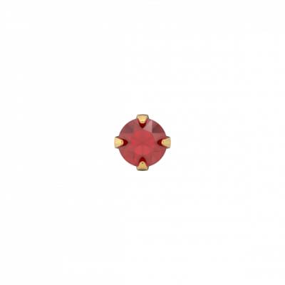 kinderoorbellen-goud-met-rode-steen